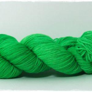 Bright Green Merino-Sockenwolle 4-fach von Wollelfe