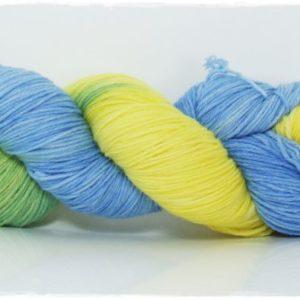 Korallenfisch Merino-Sockenwolle 4-fach von Wollelfe