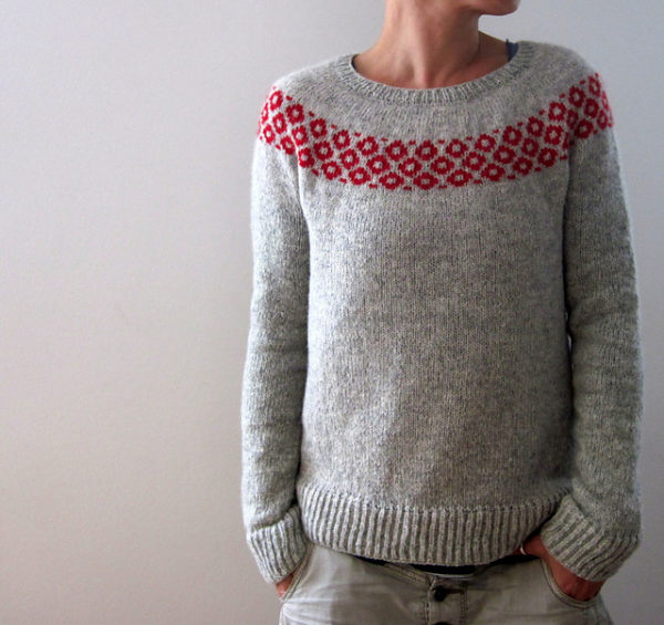 Strickset zur Anleitung bubbly sweater von Isabell Kraemer