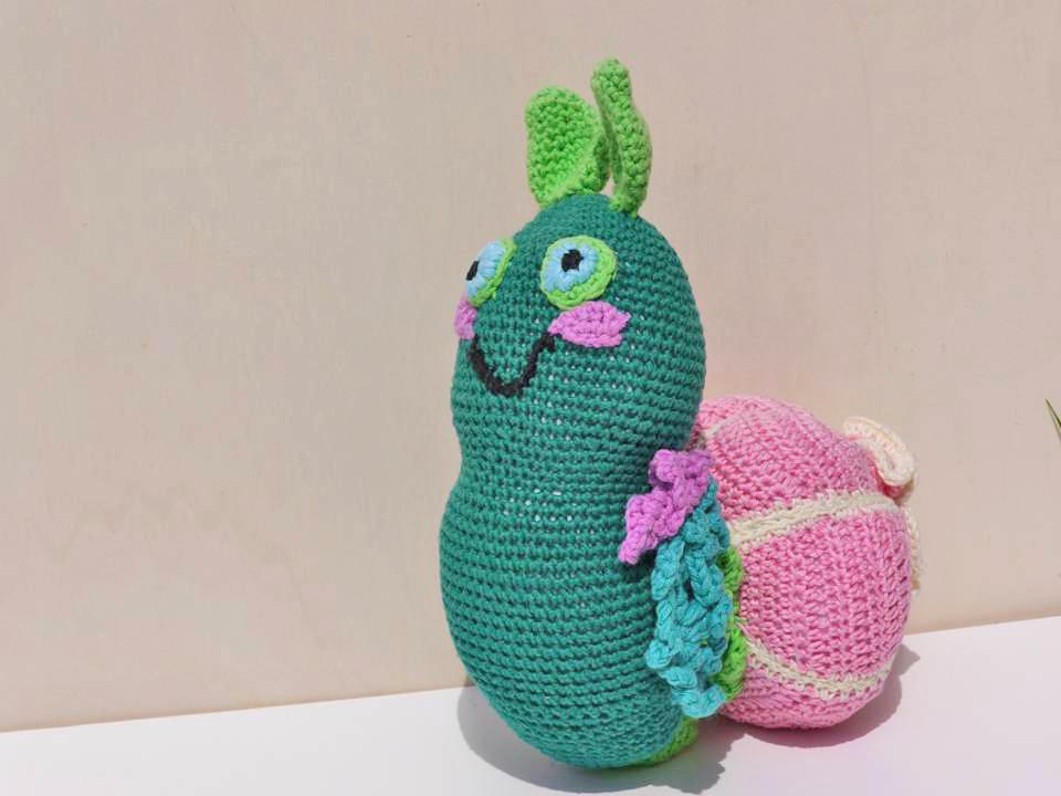 Anleitung Herzschnecke | Schaut mal - Amigurumi Crochet Animals ... | 720x960