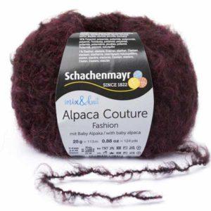 Alpaca Couture 00032 Burgund von Schachenmayr