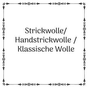Handstrickwolle