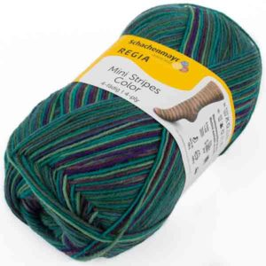 Regia Mini Stripes Color 02996 von Schachenmayr