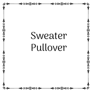 Sweater / Pullover