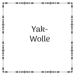 Yakwolle