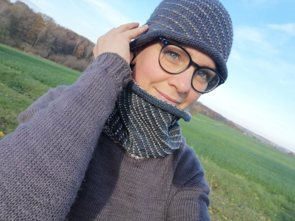 Strickanleitung Winterset Glühwürmchen von Franziska Matz / KniTime