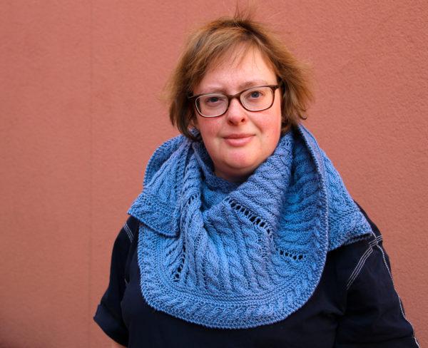 Strickanleitung Lucky Seven Shawl von Katrin Schubert