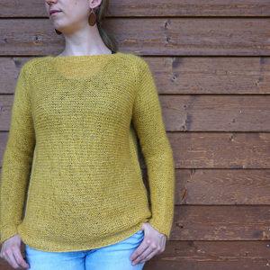 Strickanleitung Easy Sweater von Asita Krebs / sidispinnt