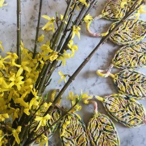 Strickanleitung A Leaf A Day von Katrin Schubert