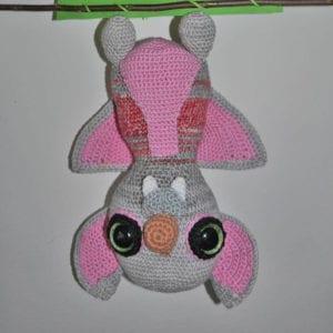 Häkelanleitung Fledermaus von Nicole Berlinger / berlidesign