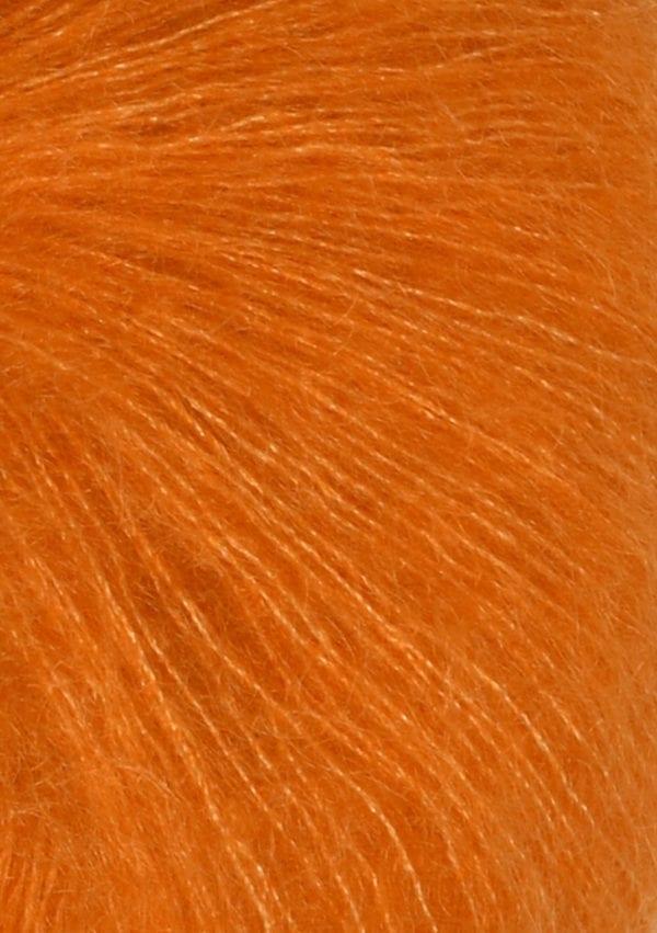 Tynn Silk Mohair col.2727 orange von Sandes Garn
