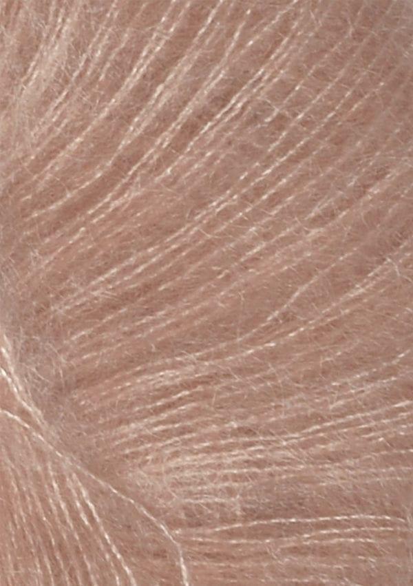 Tynn Silk Mohair col.3511 powder pink von Sandes Garn