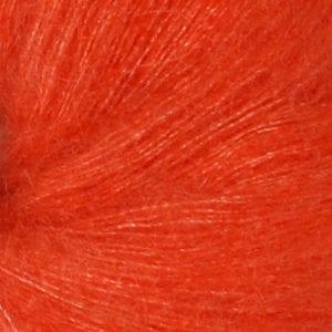 Tynn Silk Mohair col.3818 orange von Sandes Garn