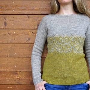 Strickanleitung Blossom Sweater von Asita Krebs / sidispinnt