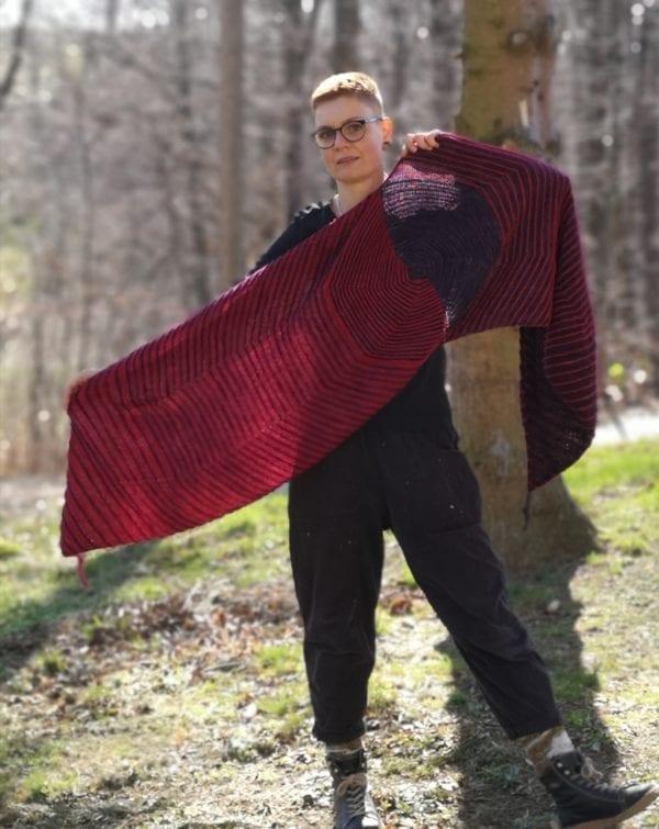 Strickanleitung Hope-Tuch von Franziska Matz / KniTime