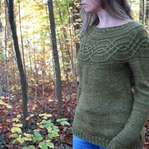 Strickanleitung Celtic Sweater von Asita Krebs / sidispinnt