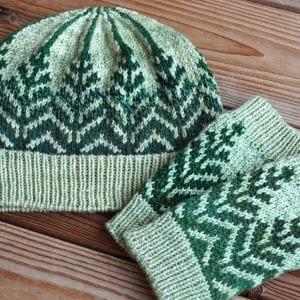 Strickanleitung Pine Forest Set von Asita Krebs / sidispinnt