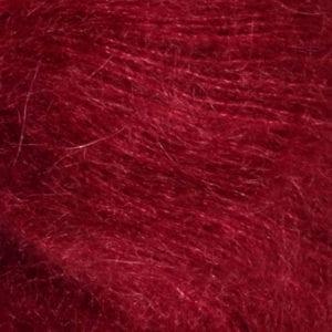 Tynn Silk Mohair col.4236 dyp rød von Sandes Garn
