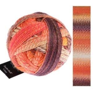 Crazy Zauberball 2472 Orangerie von Schoppel Wolle